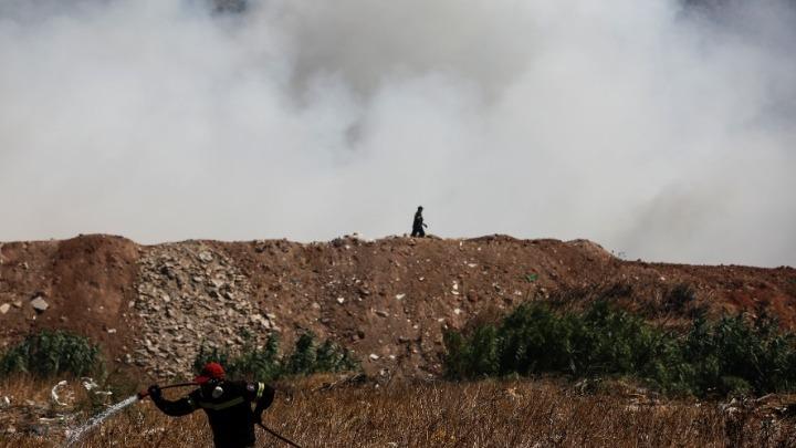 02ba87cb1 Ενισχύονται οι δυνάμεις στο Μαρκόπουλο για την αντιμετώπιση της πυρκαγιάς.  Ελλάδα