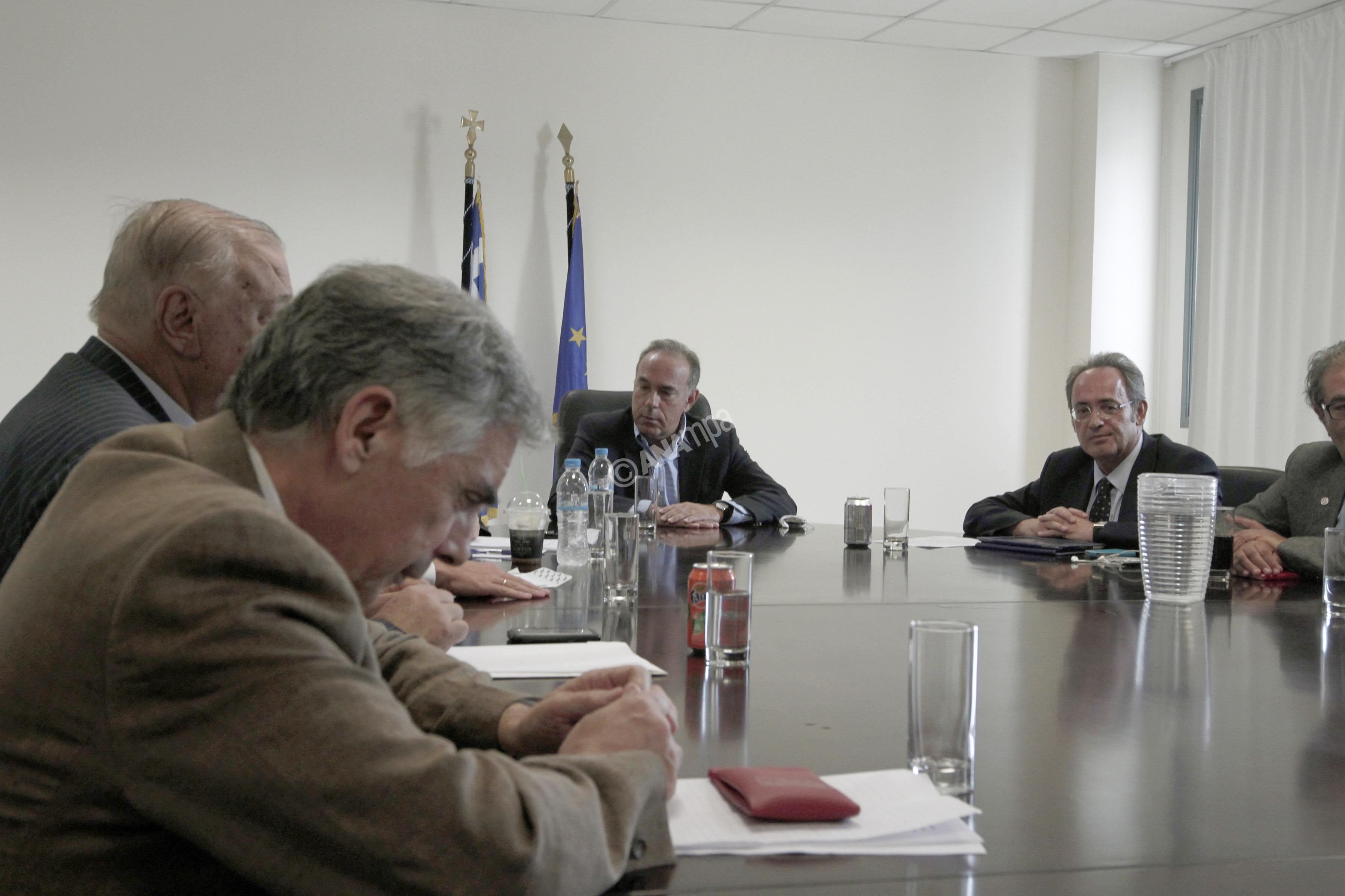 Ο  υπουργός Παιδείας Κωνσταντίνος Αρβανιτόπουλος (Κ) συναντήθηκε  με τους πρυτάνεις , την  Παρασκευή 13 Σεπτεμβρίου 2013, στο  Υπουργείο. ΑΠΕ-ΜΠΕ/ΑΠΕ-ΜΠΕ/ΑΛΚΗΣ ΚΩΝΣΤΑΝΤΙΝΙΔΗΣ