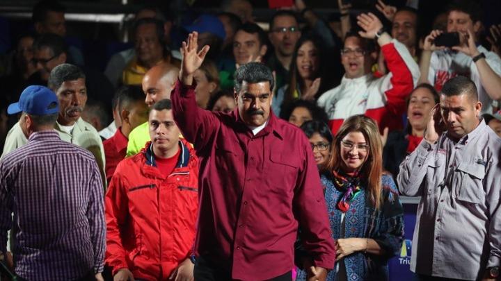 Ο Νικολάς Μαδούρο επανεξελέγη πρόεδρος της Βενεζουέλας για εξαετή θητεία  την Κυριακή 2135dae9670