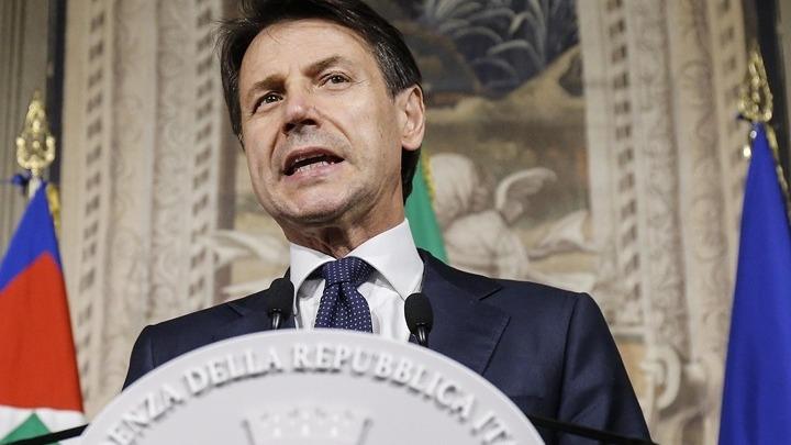 Κόσμος   Ιταλία  Η κυβέρνηση του Τζουζέπε Κόντε ορκίσθηκε στο Κυρηνάλιο 5ac9ee3ecfe