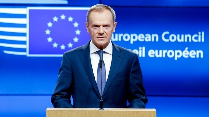 Ο πρόεδρος του Ευρωπαϊκού Συμβουλίου Ντόναλντ Τουσκ συνεχάρη σήμερα τον νέο  πρωθυπουργό της Ιταλίας Τζουζέπε Κόντε 050022f36a9