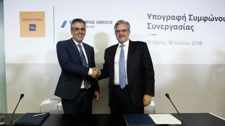 We want to contribute to the Greek economy's growth
