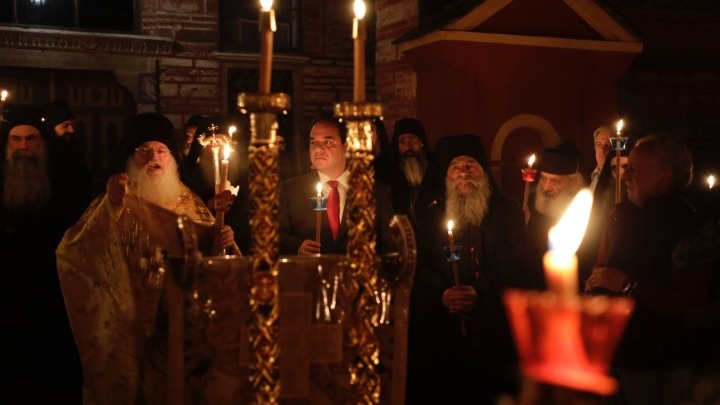 Greeks throughout the country celebrate Orthodox Easter
