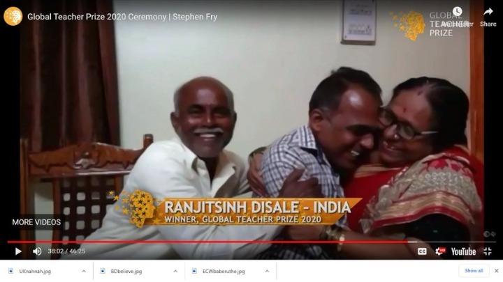 Το «Νόμπελ Διδασκαλίας» απονεμήθηκε σε Ινδό δάσκαλο που αποφάσισε να το  μοιραστεί με τους άλλους 9 φιναλίστ συναδέλφους του - ΑΠΕ-ΜΠΕ