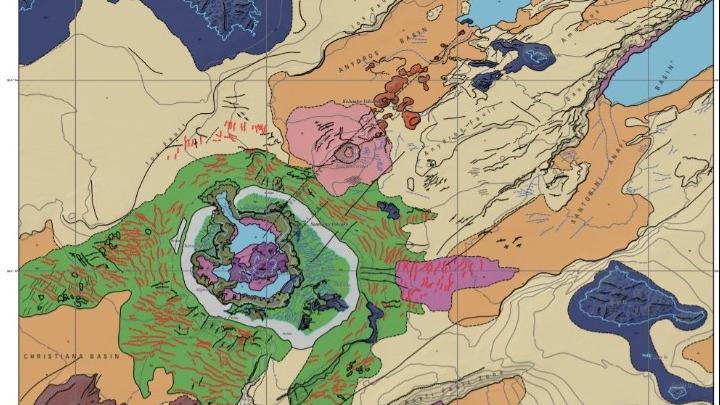 Ο πρώτος υποθαλάσσιος γεωμορφολογικός χάρτης της Σαντορίνης από άλλο… πλανήτη