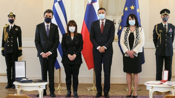 Sakellaropoulou: We want constructive cooperation with Slovenia 2