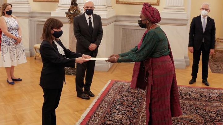 North Macedonian ambassador presents credentials to Greek President 2