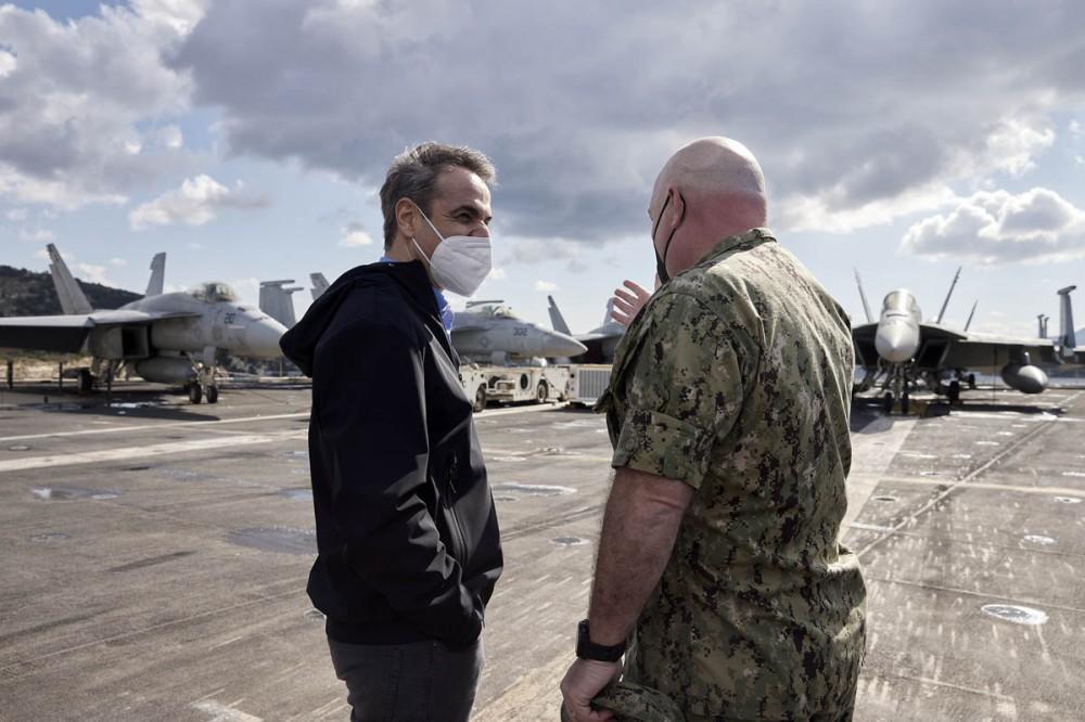 Μητσοτάκης: Η στρατιωτική συνεργασία Ηνωμένων Πολιτειών-Ελλάδος βρίσκεται σε εξαιρετικά υψηλά επίπεδα